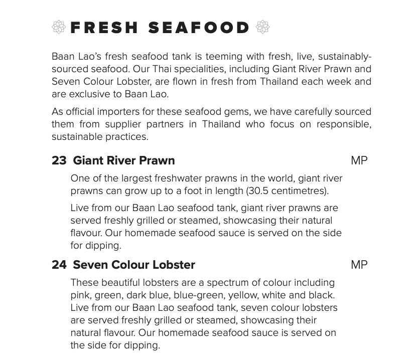 Baan Lao Fresh Live Seafood